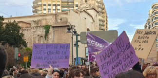 Valencia no prohibirá las más de 40 concentraciones del 8M