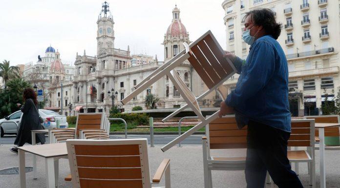Proponen ampliar el horario de la hostelería valenciana hasta las 20:00 horas
