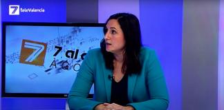 """Elisa Valía """"El consumo de agua embotellada en Valencia es un escándalo"""""""