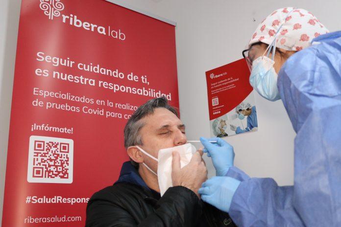 Riberalab refuerza el Servicio de pruebas Covid en su laboratorio de San Juan