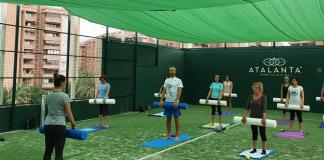 Los gimnasios de Valencia se reinventan y montan sus instalaciones al aire libre