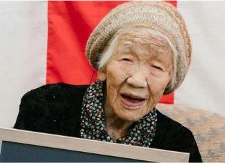 una mujer con 118 años