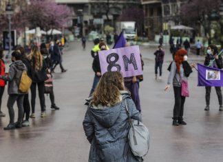 Así se ha celebrado el 8M en plena desescalada en Valencia