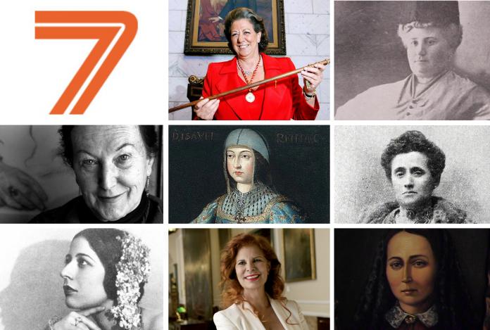 8-M | Las ocho mujeres valencianas que se han convertido en historia de España