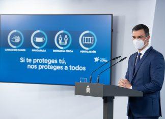 Pedro Sánchez no prorrogará el estado de alarma en España