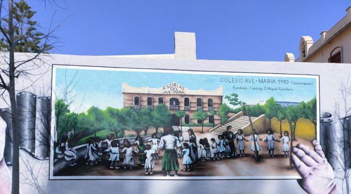 Descubre el nuevo mural de arte urbano que recrea la obra de Sorolla