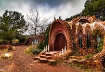 El dragón de la Calderona, un monumento olvidado en el interior de Valencia
