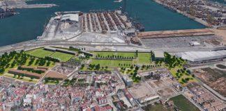 El Puerto de Valencia se transformará en una gran zona verde y deportiva