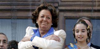 Proponen nombrar a Rita Barberá Alcaldesa Honoraria de Valencia