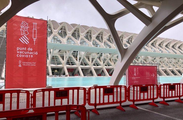 La Ciudad de las Artes anuncia su apertura para la vacunación masiva