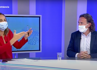El enfado televisivo entre Grezzi y la concejala del Partido Popular, Paula Llobet
