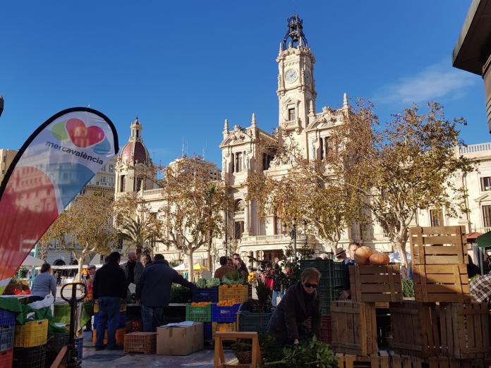 Cuatro barrios de Valencia estrenarán mercadillos ecológicos