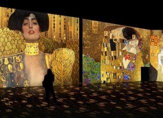 Valencia se tiñe de oro con una fascinante exposición inmersiva de Klimt