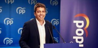 Mazón se presenta como candidato a presidir el PPCV con el apoyo de Génova