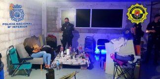 Desalojan una discoteca ilegal con 38 personas de fiesta