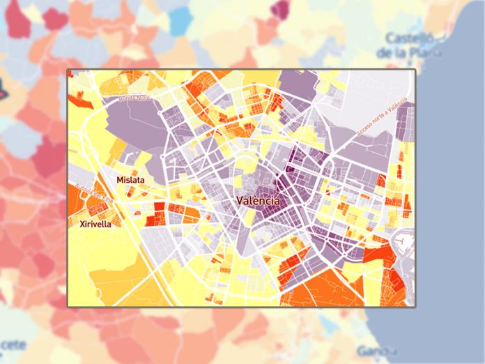 El mapa de la renta valenciana: ranking de los municipios más ricos y pobres de la Comunitat