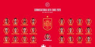 EUROCOPA 2020 | Luis Enrique anuncia la lista de los 24 futbolistas