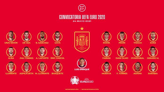 EUROCOPA 2020   Luis Enrique anuncia la lista de los 24 futbolistas