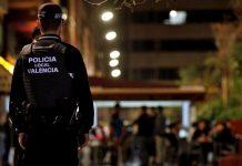 Cinco heridos tras pelearse por la mesa de un bar en Valencia