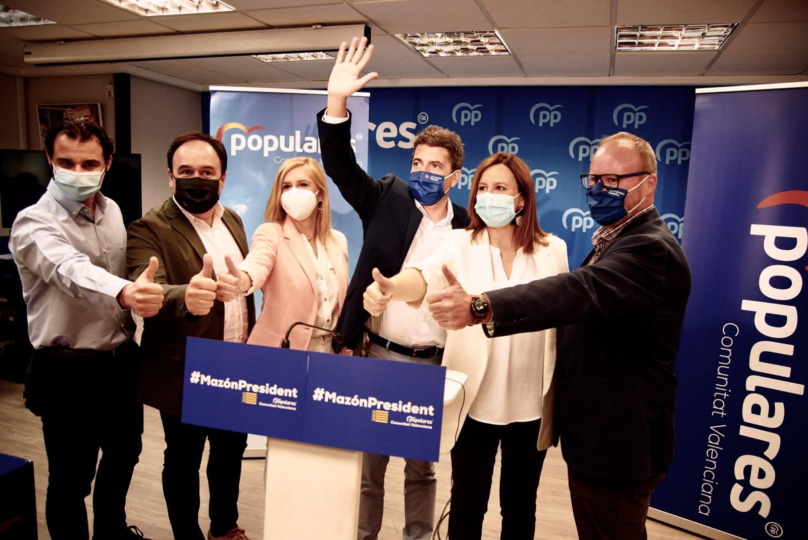 Carlos Mazón se presenta como candidato a presidir el PP valenciano con el apoyo de Génova