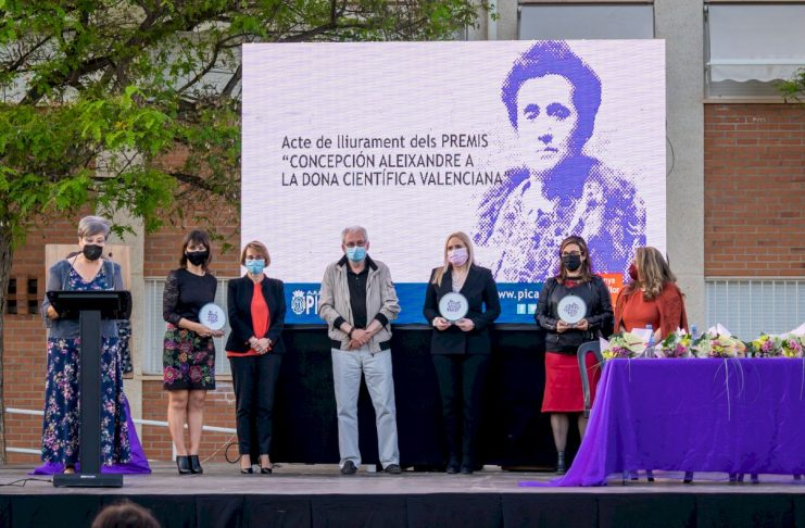 Picanya entrega los premios Concepción Aleixandre a la Dona Cientifica Valenciana