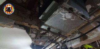 parte del techo