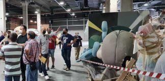 Arranca el dispositivo para trasladar las fallas a plazas y calles de Valencia