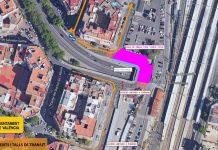 Una céntrica calle de Valencia se cierra al tráfico durante dos meses