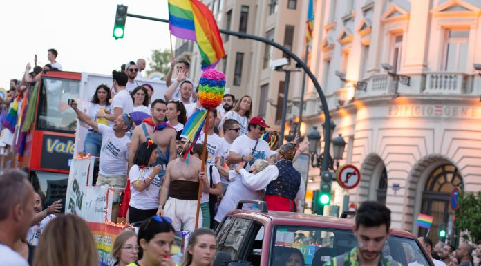 La manifestación del Orgullo vuelve a las calles de Valencia sin fiesta ni carrozas