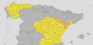 DANA | Decretan la alerta amarilla en gran parte de la Comunitat