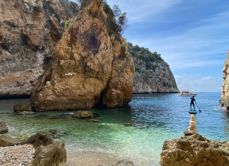 En Caló, la cala secreta y paradisíaca de la costa valenciana