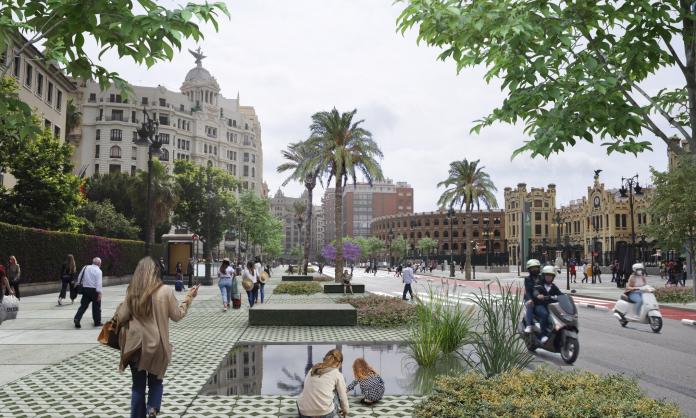 Valencia transformará las calles Xàtiva y Guillem de Castro