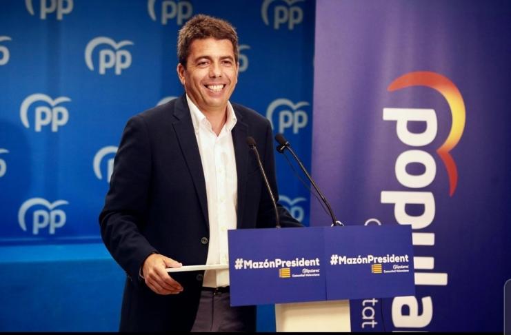 """Carlos Mazón: """"El Partido Popular valenciano está preparado para gobernar"""""""