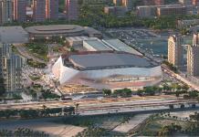 Juan Roig invertirá 35 millones de euros más para levantar el Casal España Arena este verano