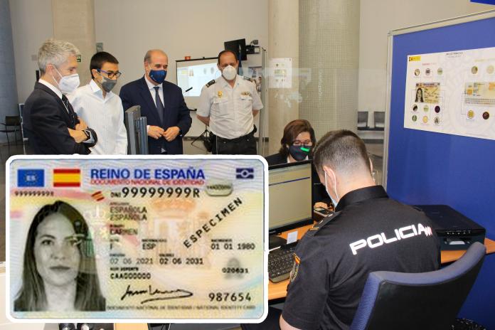 El ministro del Interior presenta el DNI Europeo, la nueva versión del DNI electrónico
