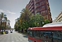 Atropellan a una mujer en la Gran Vía de Valencia