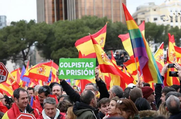 Valencia se suma a la protesta contra los indultos este fin de semana