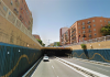 Cortan la circulación en un túnel de Valencia por la caída de cascotes