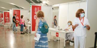 La Comunitat Valenciana batirá un récord de vacunación esta semana