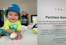 un bebé compra
