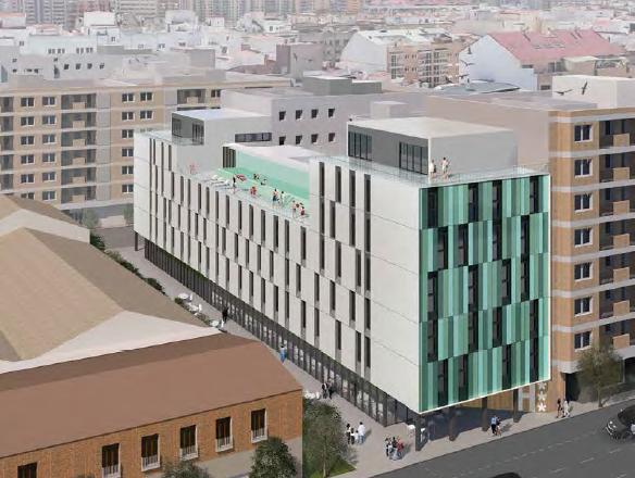 Valencia tendrá un nuevo hotel de lujo con 'rooftop' y piscina exterior