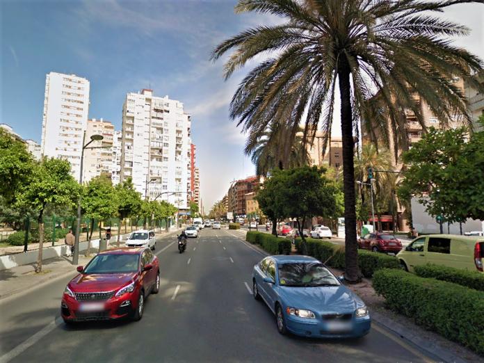 Una gran avenida de Valencia sufrirá cortes de tráfico todo el mes de julio