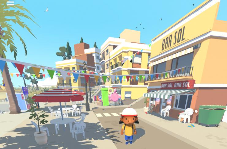 Un videojuego recrea los veranos de la infancia en los pueblos valencianos