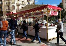Las churrerías ambulantes regresan a Valencia por Fallas