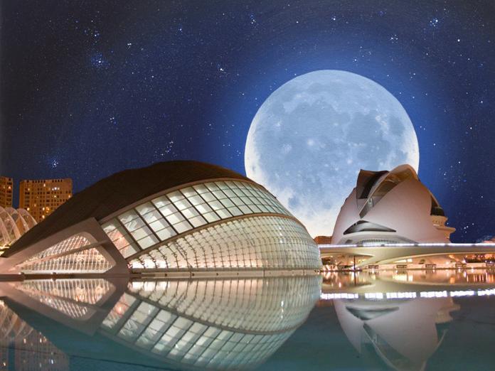 El Hemisfèric se transforma en un planetario gigante para ver las estrellas