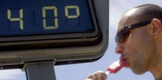 Alerta naranja por temperaturas máximas de 40º en Valencia
