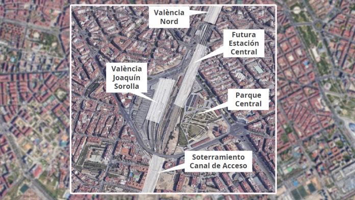 Así será la futura Estación Central de Valencia
