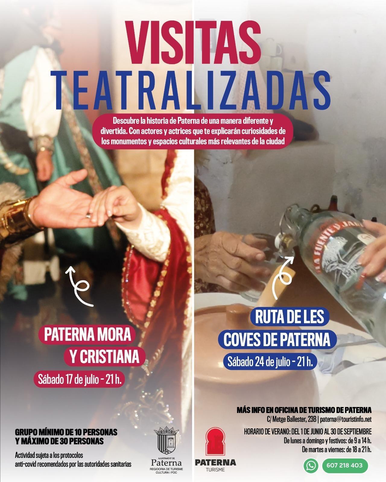 visitas teatralizadas Paterna