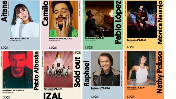 Benicàssim se llena de grandes conciertos con 'Luce Benicàssim'