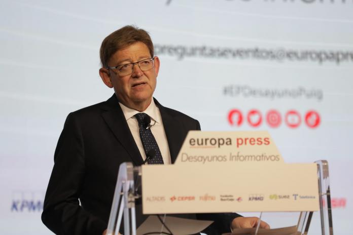 Puig pide descentralizar España y presenta cinco propuestas para resolver cohesionar el país